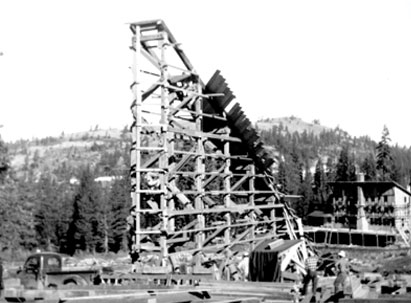 first Disney Chair lift
