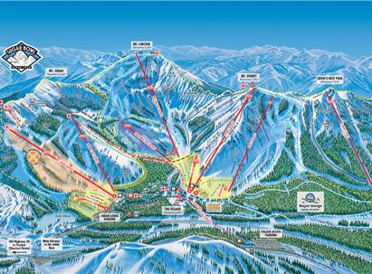 Sugar Bowl Resort Map