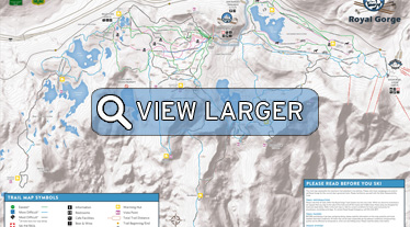 Royal Gorge Map