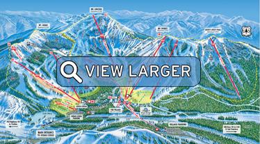 Sugar Bowl Resort Map - Click to view larger