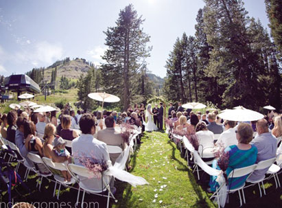 weddings at Sugar Bowl