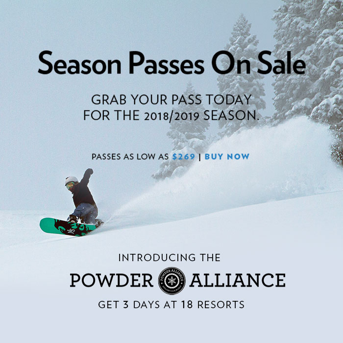 Grab a Sugar Bowl Season Pass and ski or snowboard as much you can for the 2017/2018 winter season!