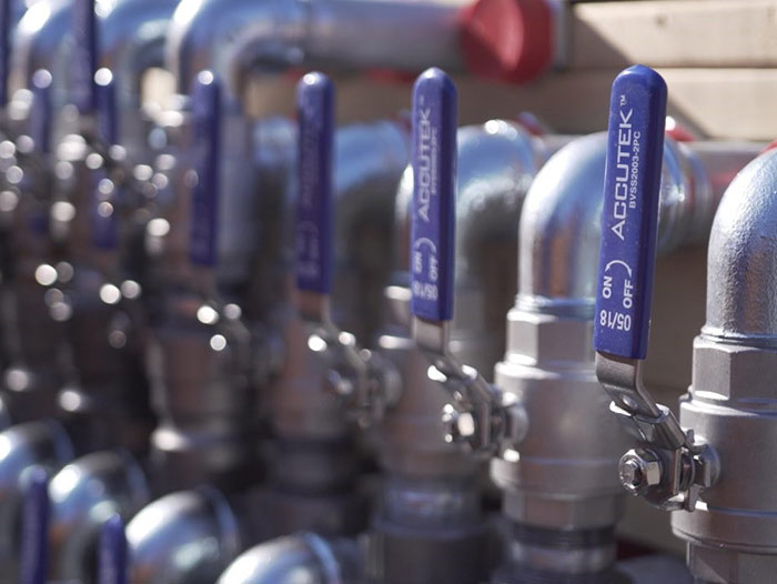 New snowmaking valves for capital project