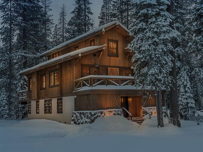 Build a cabin in the beautiful Sugar Bowl Resort Village.