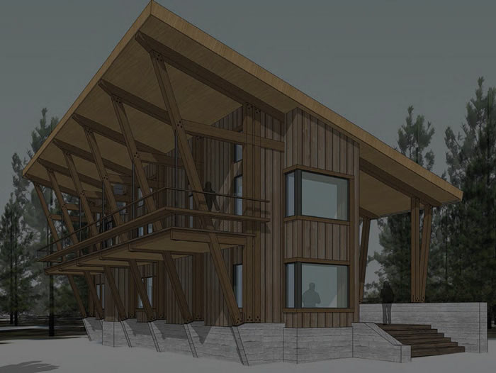 Build a chalet in the Village at Sugar Bowl Resort.