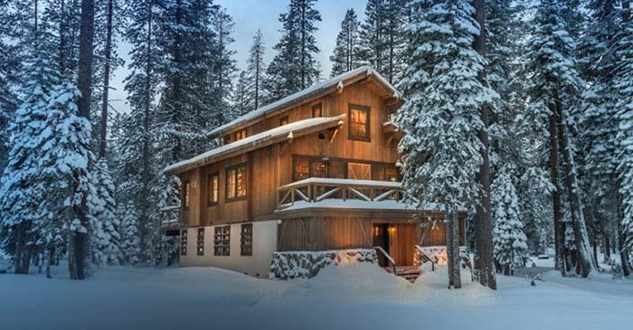 Sugar Bowl Home in winter