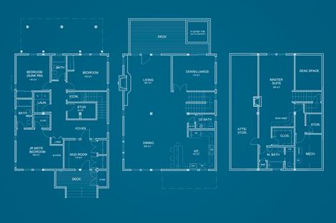Jerome Creek Cabin Floor Plan