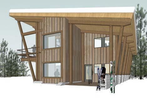 Sugar Bowl Chalet Village Home floor plan