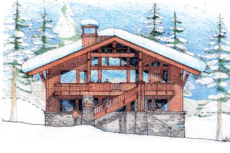 Jerome Creek Cabin Blueprint at Sugar Bowl