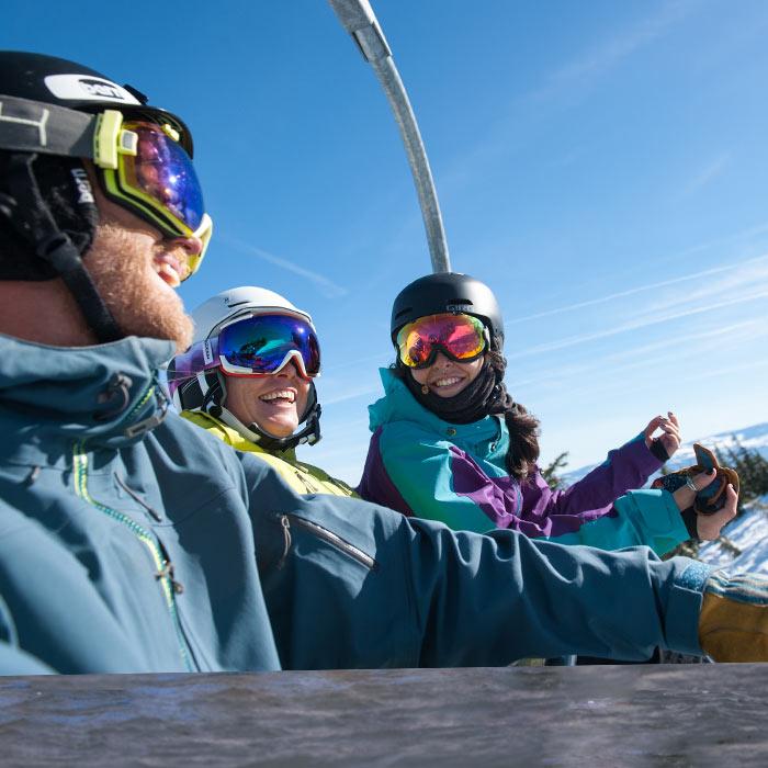 Express chairlift access at Sugar Bowl ski resort, homeowner exclusive.