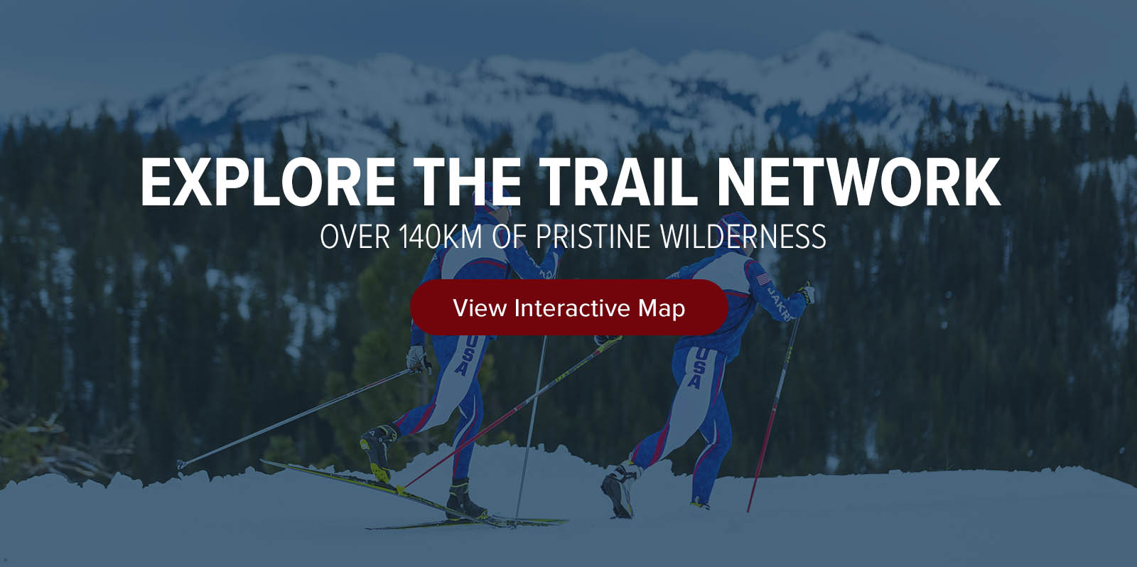 Interactive map royal gorge cross country resort north americas largest cross country resort sciox Image collections