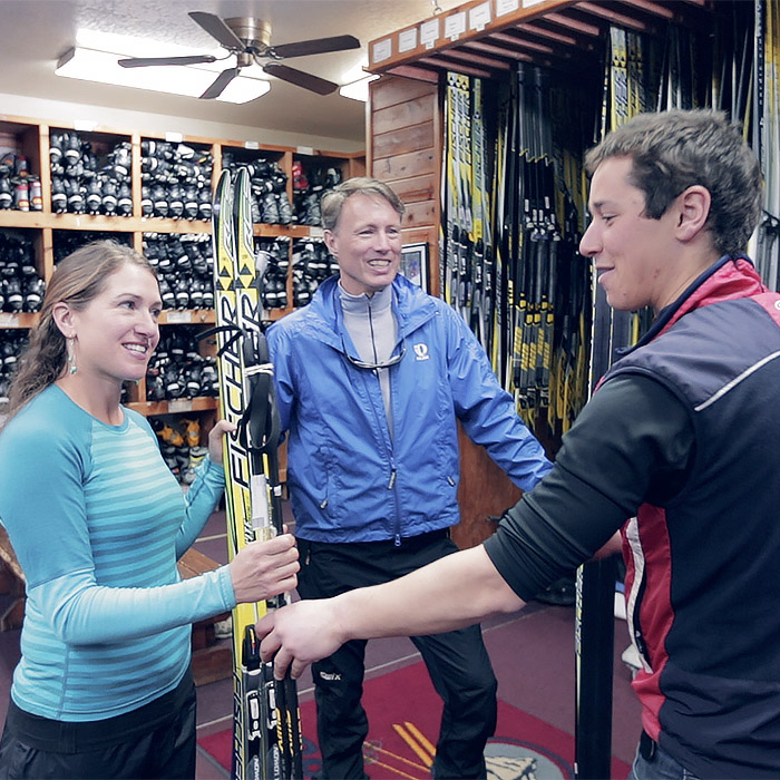 Skate, Classic, and Snowshoe Rentals at Royal Gorge Cross County
