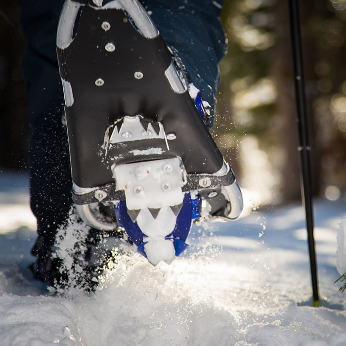 Snowshoe rentals available at Royal Gorge