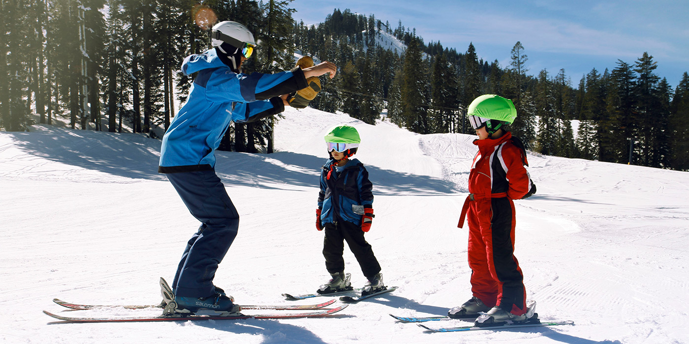 Child lessons sugar bowl resort donner summit california introducing the new village kids friendly ski sciox Image collections