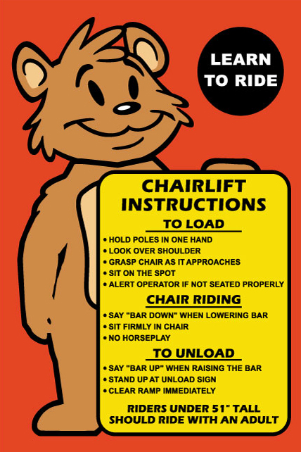 Sugar Bowl Chairlift Safety