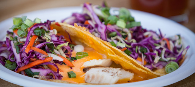 Royal Gorge Dining - Fish Tacos from Royal Gorge