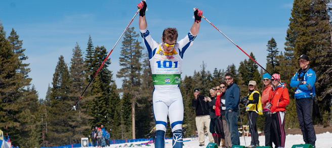 Royal Gorge Events - Competitor celebrates his race