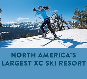 North Americas Largest Cross Country - Cross Country Skier at Royal Gorge