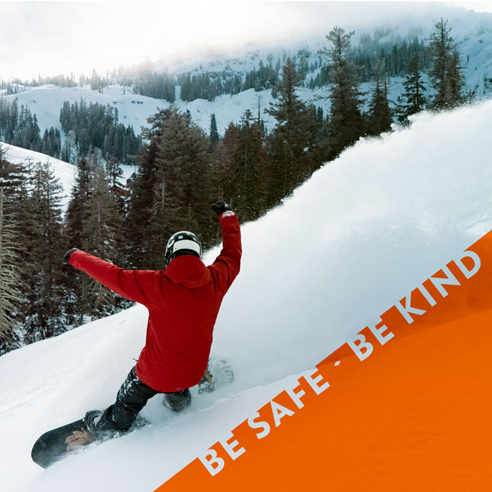 Be Safe, Be Kind at Sugar Bowl Ski Resort