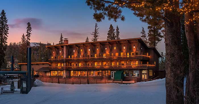 Slopeside Hotel at Sugar Bowl Ski Resort
