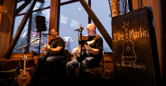 Live Music by Ike & Martin in the Judah Lodge every Wednesday Night at Sugar Bowl Ski Resort