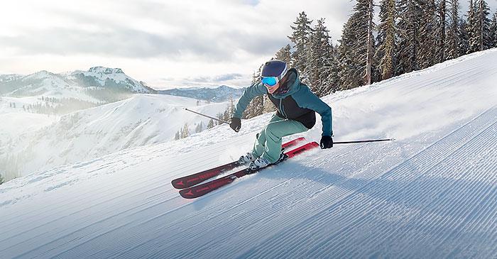 Groomer at Sugar Bowl Ski Resort