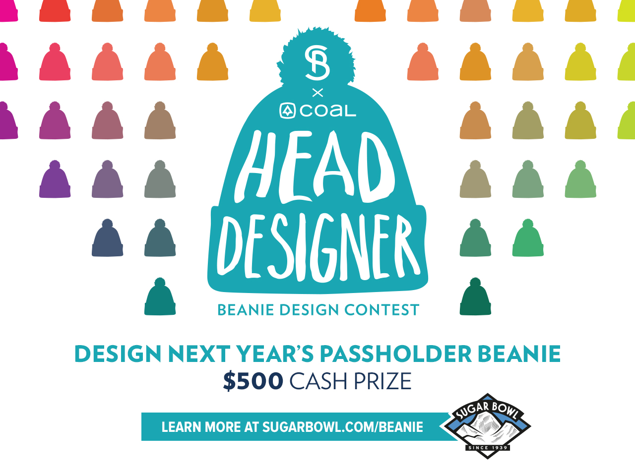 Sugar Bowl x Coal: Head Designer, Beanie Design Contest