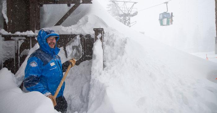 Deep Snow at Sugar Bowl