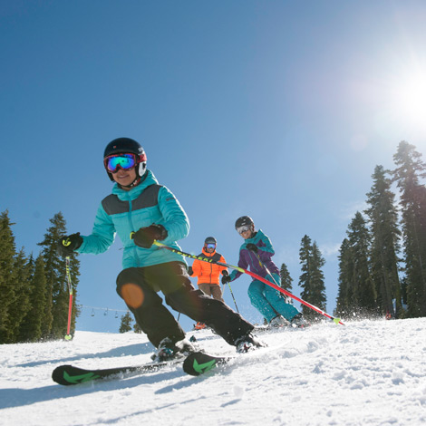 Ski and snowboard rentals at Sugar Bowl Resort