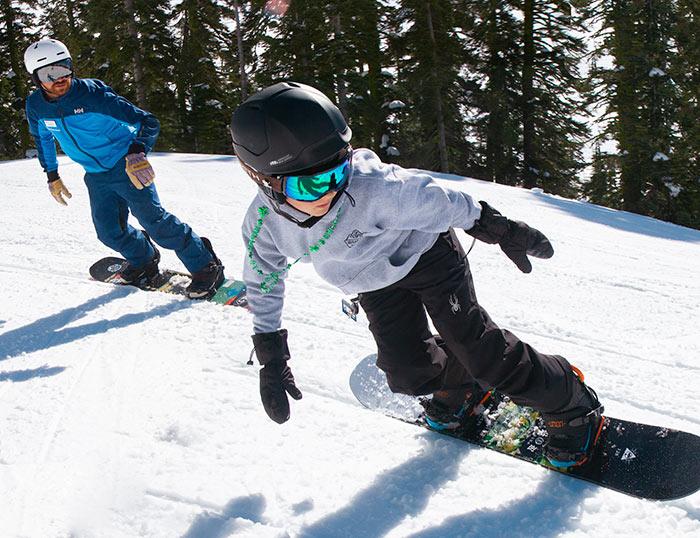 Best children's ski and board school program in Tahoe