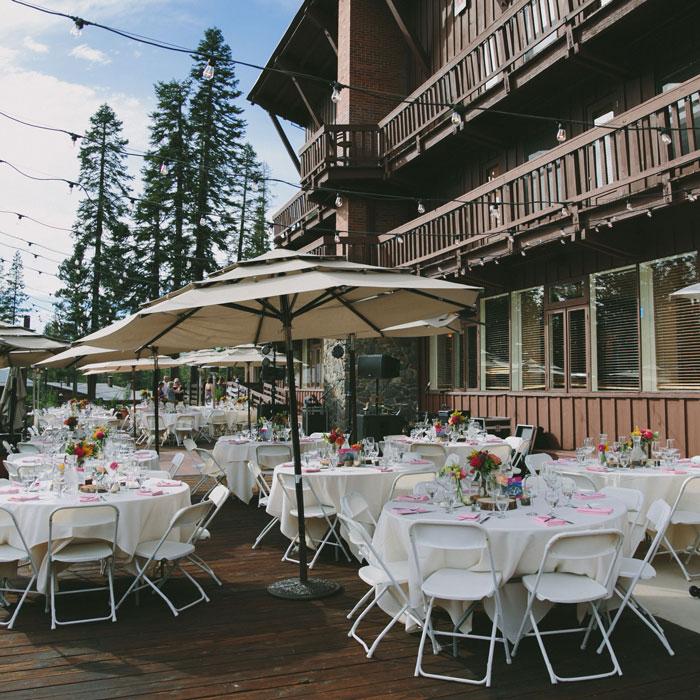 Sugar Bowl Village Lodge Wedding Venue