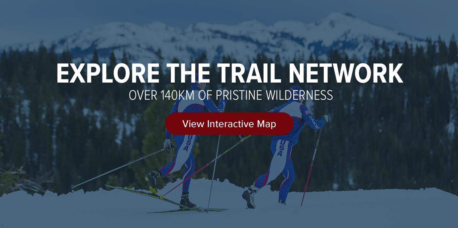 Interactive Trail Map for Royal GorgeRoyal Gorge interactive trail map for the largest cross country resort.