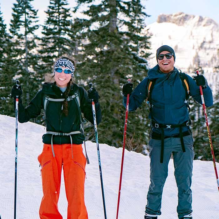 Cross country skiing season pass at Royal Gorge