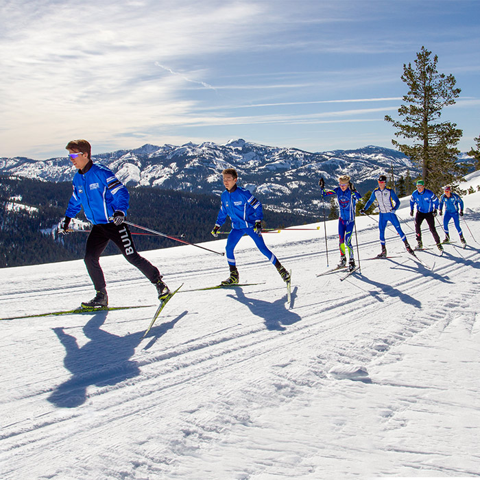 Cross country lesson clinics with Olympic athletes at Royal Gorge