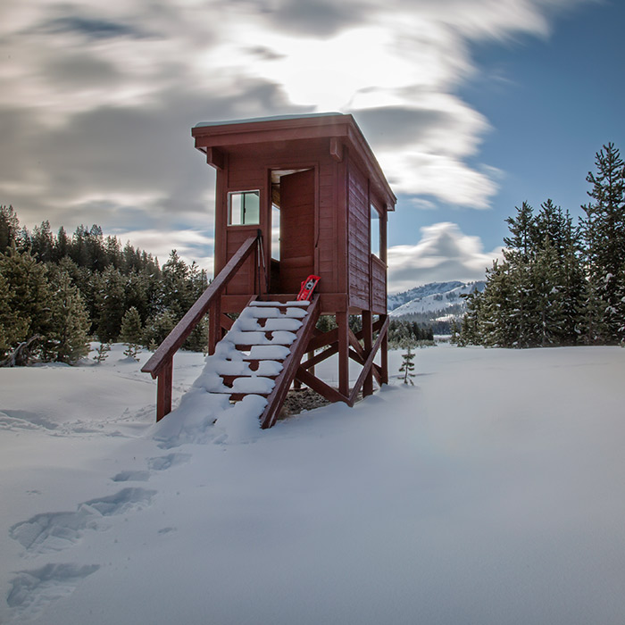 Royal Gorge Warming Huts Along North America's Largest Trail Network