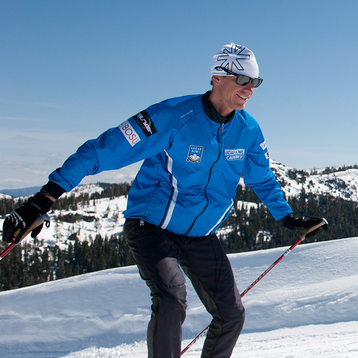 Nordic cross country Skate skiing at Royal Gorge