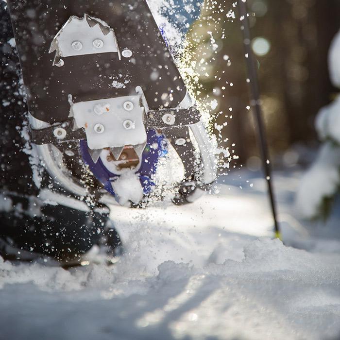 Snowshoeing at Royal Gorge