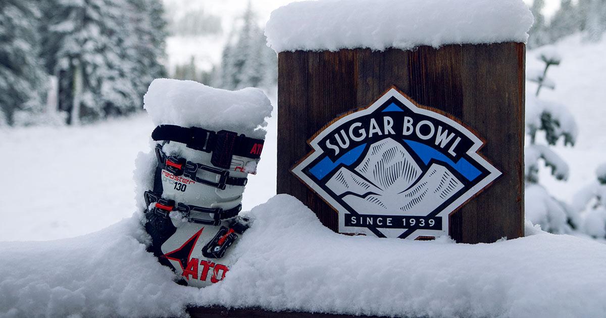 Sugar Bowl Snow Web Cameras | View Live Conditions atop